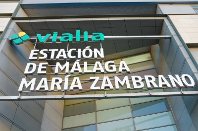 Estación del Ave Málaga María Zambrano