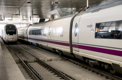 Trenes AVE Málaga Madrid