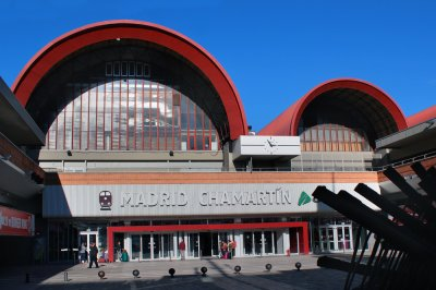 Estación del AVE Madrid Chamartín