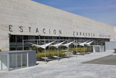Estación de tren de Zaragoza Delicias