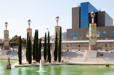 Parque de la España Industrial Sants Estació