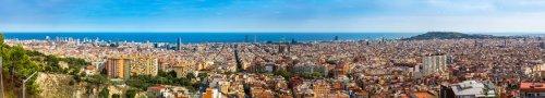 AVE Madrid Barcelona Vista panorámica Barcelona
