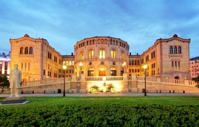 Arquitectura ecléctica ejemplo Oslo Parliament