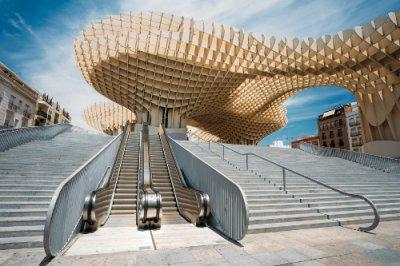 AVE Sevilla Setas de la Plaza de la Encarnación