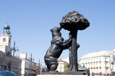 El oso y el Madroño AVE Madrid
