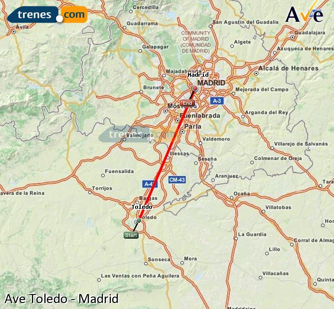 AVE Toledo Madrid