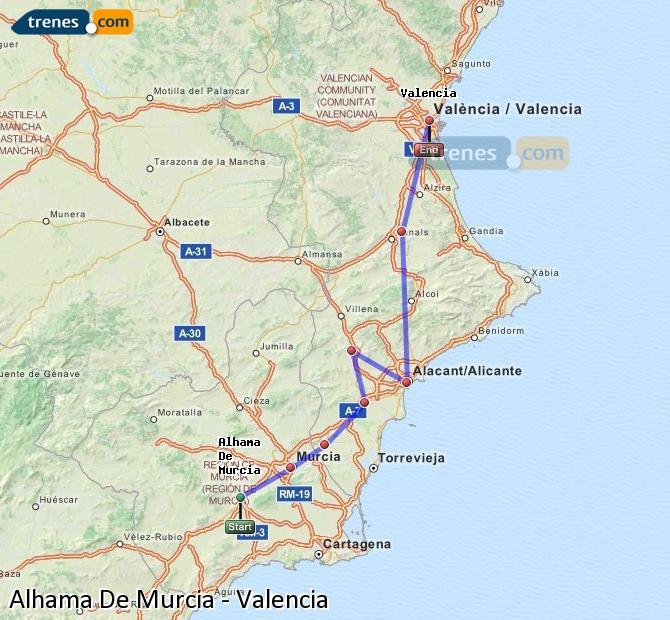 horarios de trenes murcia madrid: