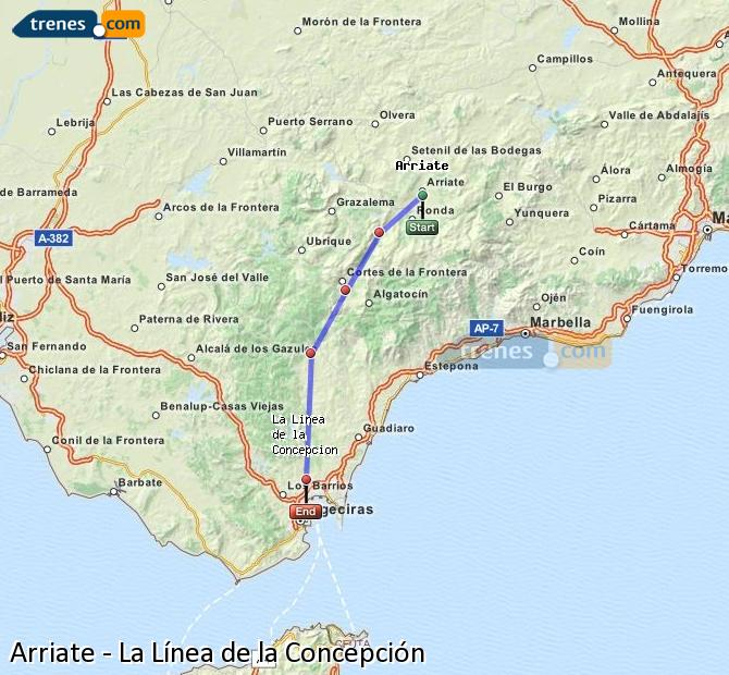 Cheap Arriate To La L 237 Nea De La Concepci 243 N Trains Tickets