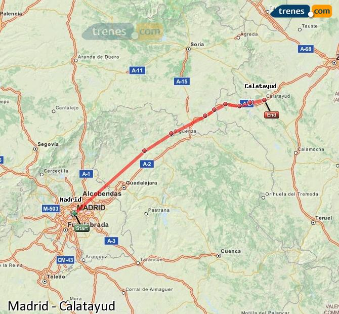 Trains Madrid Calatayud