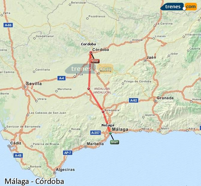 Cheap AVE Malaga to Córdoba tickets, tickets from 8,90 ... on map of andalucia, map of puerto rico gran canaria, map of iruna, map of mutare, map of sagunto, map of cudillero, map of bizkaia, map of getxo, map of tampere, map of macapa, map of marsala, map of mount ephraim, map of costa de la luz, map of italica, map of soria, map of isla margarita, map of monchengladbach, map of venice marco polo, map of penedes, map of graysville,
