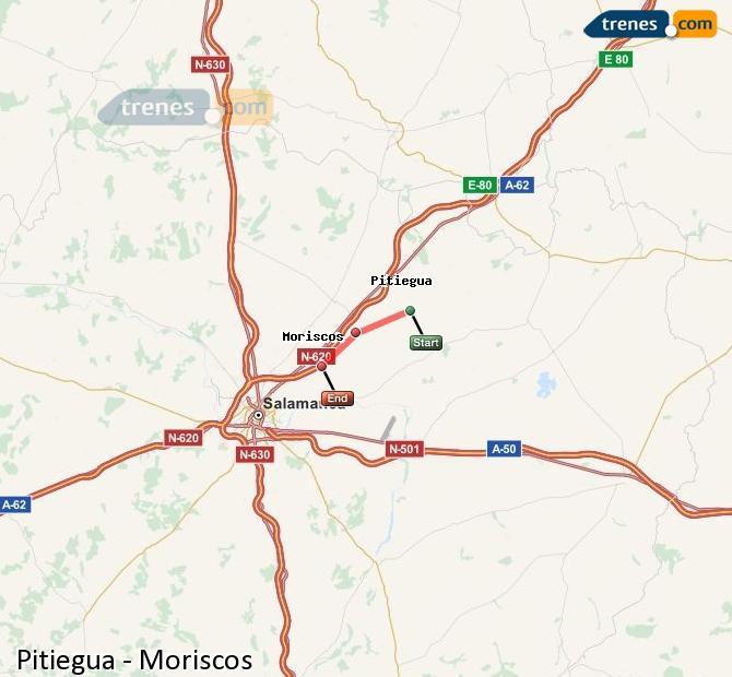 Ampliar mapa Trenes Pitiegua Moriscos