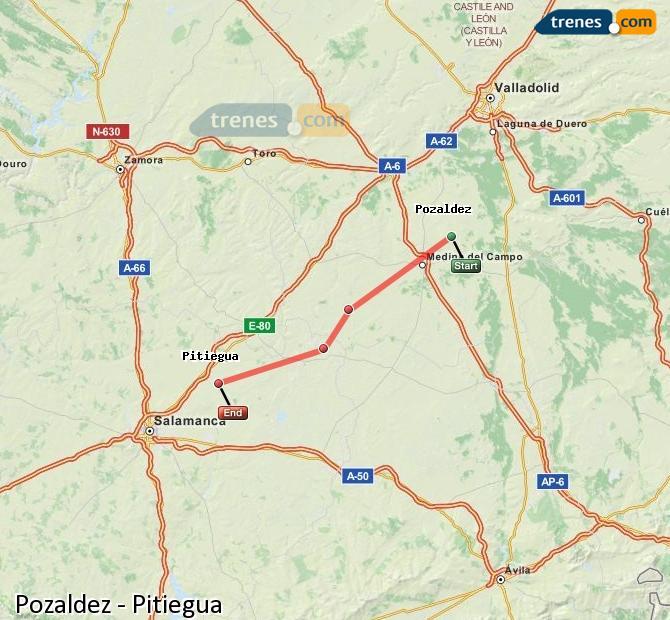 Ampliar mapa Trenes Pozaldez Pitiegua