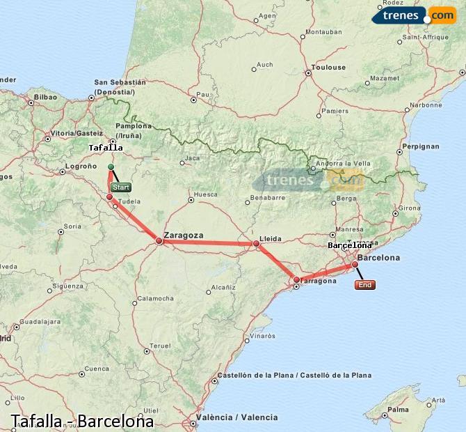 Trenes tafalla barcelona baratos billetes desde 15 65 - Billetes muy baratos ...
